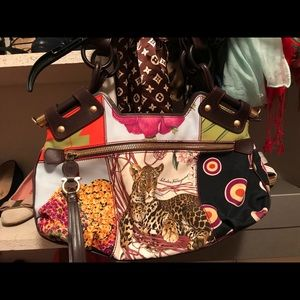 Feorrgomo tiger animal vintage bag